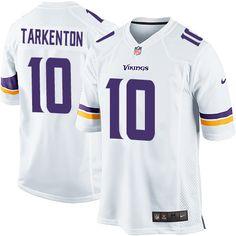 Nike Limited Fran Tarkenton White Youth Jersey - Minnesota Vikings #10 NFL Road