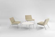 Fold Lounge Chairs & Coffee Table