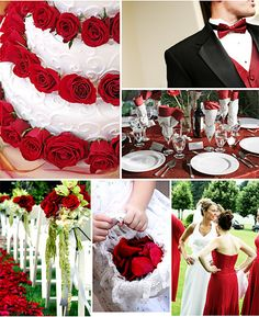 Wedding ideas - avoid red plates, they psychologically cause people to eat more