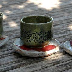 Que passeu un GRAN fin de setmana #ceramic #cerámica #esmalte #oribe #yunomi Pottery Patterns, Pattern Ideas, Instagram Posts, Enamel, Pottery Designs