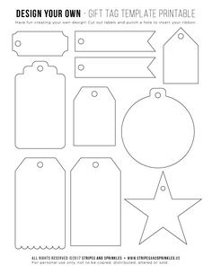 download free printable Tag Templates, Templates Printable Free, Printable Designs, Free Printable Gift Tags, Handmade Gift Tags, Paper Tags, Button Art On Canvas, Banner, Cricut