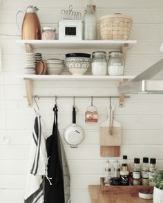 Bathroom Hooks, Floating Shelves, Bookcase, Kitchen, Cottage, Home Decor, Cooking, Decoration Home, Room Decor
