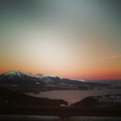 Sunrise over Swan Mountain - Summit County Colorado