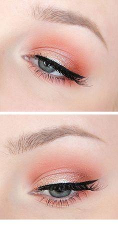 Ein großartiges Pink Eye Make-up - Natural Makeup Blue Natural Eye Makeup, Makeup For Brown Eyes, Smokey Eye Makeup, Eyeshadow Makeup, Eyeliner, Light Eye Makeup, Make Up Palette, Makeup Trends, Makeup Ideas
