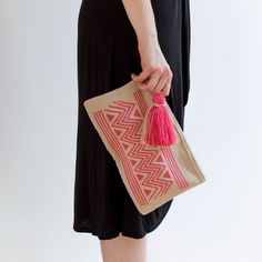 The indigenous Wayuu tribe of northern Colombia is well known for their style of mochilas woolen bags, which are handcrafted using an intricate knitting techniq