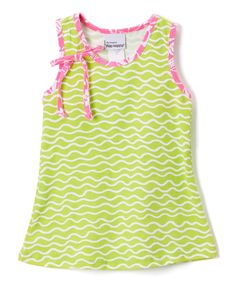 Lime Twist Jordyn Tunic - Infant Toddler & Girls