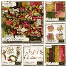 Dana's Footprint Digital Design has a beautiful digital scrapbooking kit, perfect for your Christmas memories ... kit is called JOYFUL CHRISTMAS ... bundle is the best buy!  Individual packs are also available.  http://www.godigitalscrapbooking.com/shop/index.php?main_page=product_dnld_info&cPath=29_210&products_id=22400