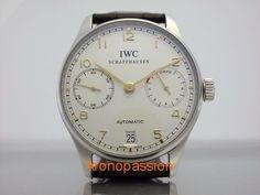 IWC Portuguese Automatic 7 Days Ref.5001-14 New ! #IWC #LuxuryDressStyles