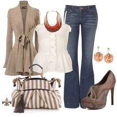 Wish fun take on an everyday outfit. my style осенние образы Winter Outfits For Work, Fall Outfits, Casual Outfits, Cute Outfits, Fashion Outfits, Work Outfits, Black Outfits, Casual Wear, Outfits 2016