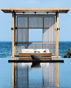 I thrive on extremes, either the superquiet (Amanyara's Turks and Caicos resort) or the supercrazy (the manic streets of Tokyo). - ELLEDecor.com