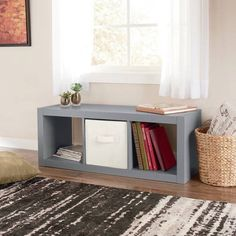 Better Homes And Gardens 15 Cube Organizer, Staggered Wall Unit, Multiple  Colors | Home Ideas | Pinterest | Cube, Walls And Cube Storage