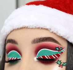The post Fuentes legna xmas inspired makeup ? candy eyeshadows eye-look Christmas Christmas Makeup Water appeared first on Italia Moda. Christmas Makeup Look, Holiday Makeup Looks, Makeup Eye Looks, Creative Makeup Looks, Eye Makeup Art, Winter Makeup, Elf Makeup, Blue Eye Makeup, Cute Makeup