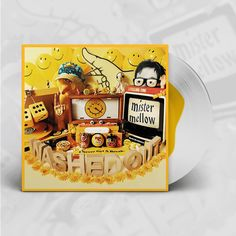 Mister Mellow Rough Trade Exclusive Limited to 300 Copies Clear with Yellow Blob Vinyl LP / Mustard-Yellow Vinyl LP