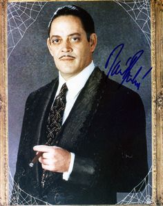 Raul Julia.... awesome.  http://www.rousecoinc.com  I got a crush on Raul Julia just because he has beautiful hands. Yes, I have a hand fetish.