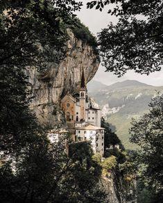 Madonna Della Corona, Spiazzi, Italy