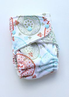 Marrakech One-Size Fitted Diaper by Orange Diaper Co, via Flickr
