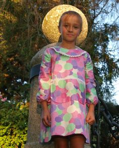 Vestido Canguro, estampado Bolas - La Princesa de Condor en Erizzos Marketplace de tiendas para niños de 0 a 14 años