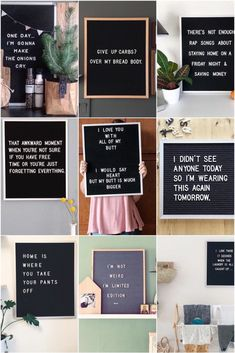 15 x de leukste letterbord quotes – One Hand in my Pocket 15 x the nicest letterboard quotes Word Board, Quote Board, Message Board, Sign Quotes, Words Quotes, Me Quotes, Funny Quotes, Qoutes, Funny Humor