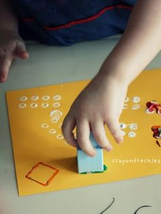 Painting with Legos