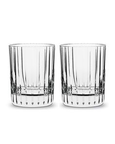 Two Harmonie Tumblers, 12 Ounces by Baccarat at Bergdorf Goodman.