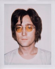 John Lennon by Andy Warhol. 1980.