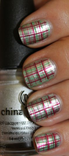 Christmas Nail Art - nailartgallery.nailsmag.com Nail Art Gallery.  this is my favorite so far