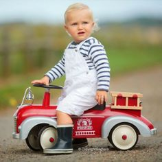 Baghera Speedster Pompier Fire Engine, £84.00 (http://inspiringtoys.co.uk/baghera-speedster-pompier-fire-engine/)