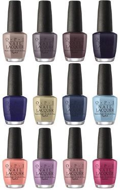 Hello pretties! The new OPI Iceland Fall Winter 2017 Collection is showing some pretty cool shades. There will be 12 new nail polish shades with matching colors for OPI Infinite Shine 2 long wear lacquers and Gel Colors. Like every