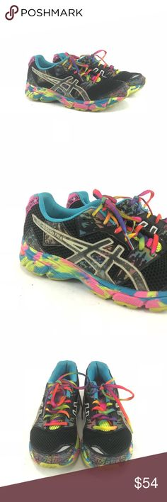 ASICS gel noosa tri 8 multi colored sneakers Pre-owned ASICS gel noosa tri 8 multi colored sneakers. See pictures for conditon. Woman's 6-6.5 Asics Shoes Sneakers