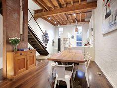 warehouse conversion-livingroom design