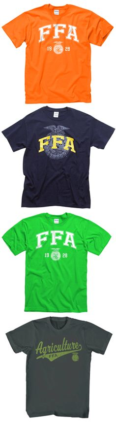 Pick your favorite $10 FFA logo tee now through April 6. http://shop.ffa.org/categories.aspx?Keyword=logo+tee&utm_source=Pin&utm_medium=pinned&utm_content=FFA%20logo%20gear&utm_campaign=46logosale