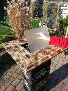 High table / side table / beer box slip-on table High table / side table / beer box slip-on table