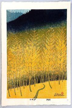 Shadow of the Mountainby Shiro Kasamatsu 1898-1992