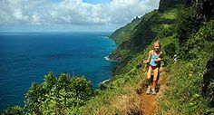 na pali coast in Hawaii 11 mile hike or boat out to it but its aid to be the most amazing place on Kauai