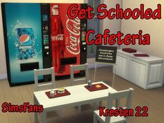 Get Schooled Cafeteria by Kresten 22 at Sims Fans via Sims 4 Updates Check more at http://sims4updates.net/objects/decor/get-schooled-cafeteria-by-kresten-22-at-sims-fans/