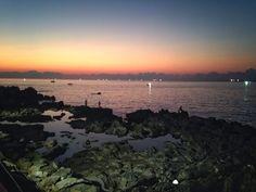#sunset #deepbluesea #jejuisland