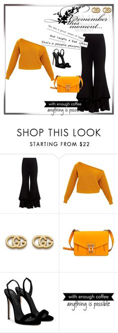 """Untitled #201"" by maryg123 on Polyvore featuring Alexis, Gucci, Proenza Schouler, Giuseppe Zanotti and WALL"
