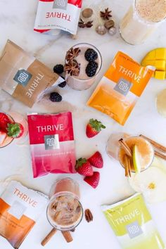 Step 2 to our very simple 3 step system. minutes after your capsules, any of these delicious flavors with water or your choice of milk! Full of pre and probiotics! Thrive Fitness, Fitness Nutrition, Thrive Life, Level Thrive, Thrive Le Vel, Thrive Experience, Fast Growing, Healthy Tips, Pumpkin Spice