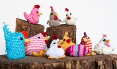 crochet rooster free patterns | Easter Crafts (For Chicken Lovers) | City Girl Farming Blog