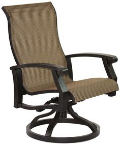 Heritage Outdoor Living Cast Aluminum Barbados Sling Outdoor Patio Swivel Rocker - Antique Bronze Finish - Set of 2. 15-Year Frame Warranty - Heritage Outdoor Living products are sold through our Exclusive Amazon.com Retail Partner - Patio Import. Fully Welded, Solid Cast Aluminum Construction is 100% Rust Free!. Masterfully Crafted To Combine Comfort, Elegance, & Quality. Five Stage Powder Coated Finish is the Toughest in the Outdoor Furnishings Industry - Antique Bronze Finish.