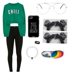 """Untitled #45"" by mascaraholic on Polyvore featuring West Coast Jewelry, Casetify and Vans"