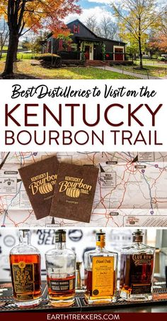 Kentucky Bourbon Trail: Complete Guide to the best distilleries. Includes Wild Turkey, Jim Beam, Old Forester, Woodford Reserve, Angel's Envy, Rabbit Hole, Bulleit, Lux Row, and more. #kbt #kentuckybourbontrail #bourbon #bourbontrail