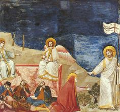 Giotto: Resurrection (Noli me tangere) in the Scrovegni Chapel
