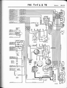 mustang instrument panel alternator charging system wiring diagrams automotive ford galaxie 1965 6 v8 galaxie right