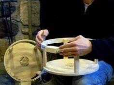Barnett's Laptop Hoop - Original and Ring Frames video Magnetic Frames, Wooden Hoop, The Creator, Laptop, The Originals, Ring, Youtube, Dress, Needlepoint
