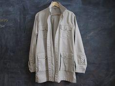 Vintage L.L Bean Jacket long trench mens USA made