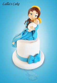 Madonnina modelling, cake design / pasta di zucchero / sugar paste