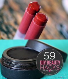 The Best DIY Beauty Hacks and Makeup Tips and Tricks | DIY makeup, essential oil recipes, and miscellaneous homemade beauty products at You're So Pretty. | #youresopretty | youresopretty.com
