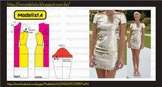 Modeler: cocktail dress