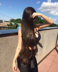 100 Supper Hot Black Traight Long Hair Supper Trendy Lace Front Wigs, Natural Black Long Hair Where to Buy Long Hair Tips, Long Dark Hair, Very Long Hair, Beautiful Long Hair, Gorgeous Hair, Beautiful Ladies, Wig Hairstyles, Straight Hairstyles, Natural Hair Styles